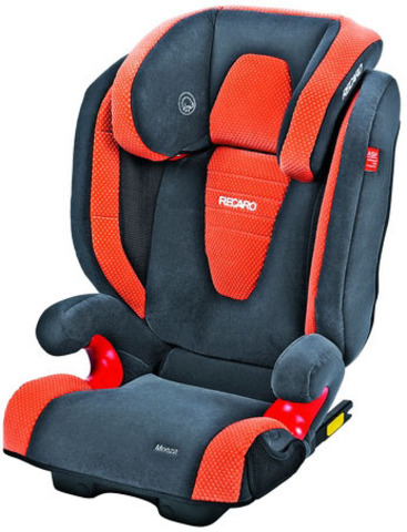 Детское кресло RECARO Monza Seatfix (материал верха Topline Microfibre Grey/Pepper)