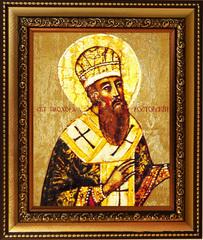 Прохор Ростовский епископ, Святитель. Икона на холсте.