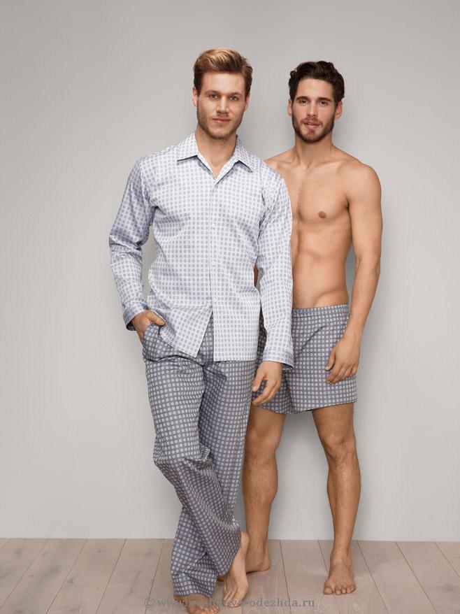 Мужская пижама из хлопка Zimmerli (Домашние костюмы и пижамы)