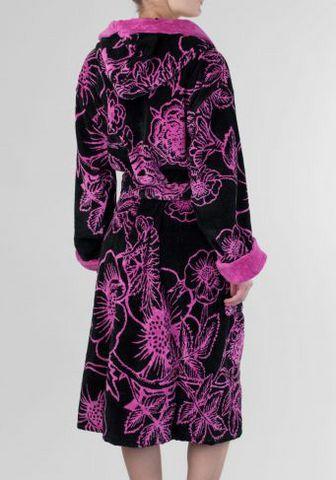 Элитный халат велюровый Fleur от Emanuel Ungaro