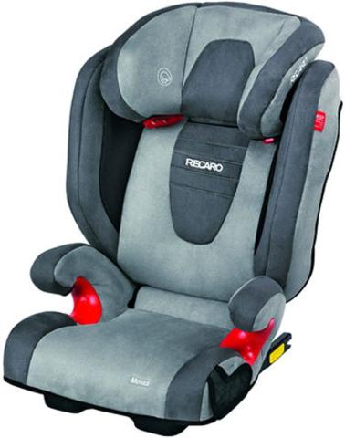 Детское кресло RECARO Monza Seatfix (материал верха Trendline Bellini Asphalt/Grey)