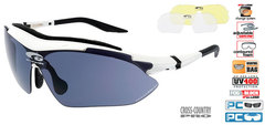 Солнцезащитные очки goggle SIGLEZ white