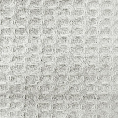 Элитный халат вафельный Nido d'Ape белый от Mirabello