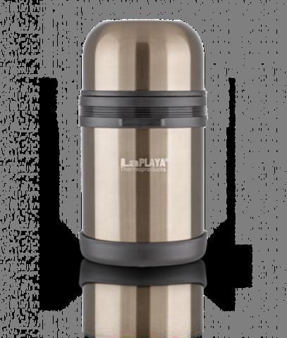 Термос универсальный (для еды и напитков) La Playa Traditional (0.8 литра) оливковый