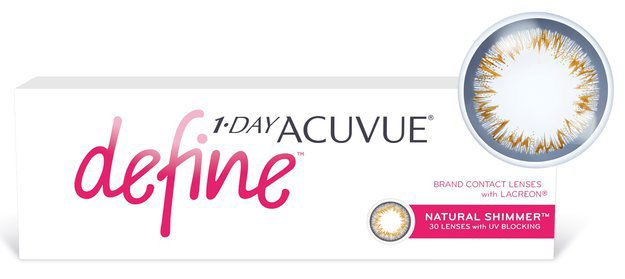 Контактные линзы 1-DAY ACUVUE® DEFINE® (Ван дей Акувью Дефайн), 30 линз
