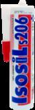 Герметик силиконовый нейтральный Isosil S206 280мл (25шт/кор)