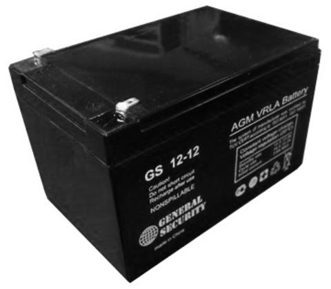 Аккумулятор GS   12 А/ч 12 В