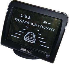 Парктроник (парковочный радар) с камерой заднего вида SHO-ME KDR-36 на 4 датчика