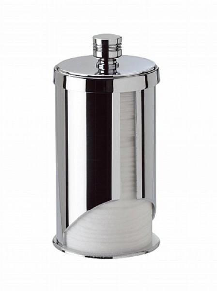 Для косметики Дозатор для ватных дисков Windisch 88120CR Ribbed dispenser-dlya-vatnyh-diskov-88120-ribbed-ot-windisch-ispaniya.jpg