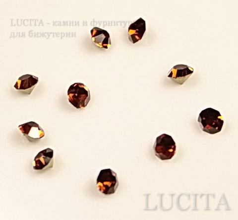 Стразы ювелирные (цвет - топаз) 2,2  мм , 10 шт ()
