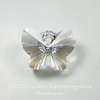 6754 Подвеска Сваровски Бабочка Crystal Moonlight (18 мм) ()
