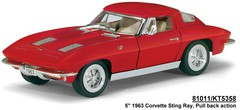 1:36 1963 Corvette Sting Ray