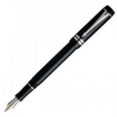 Перьевая ручка Parker Duofold F89, цвет: Black PT International, S0690560