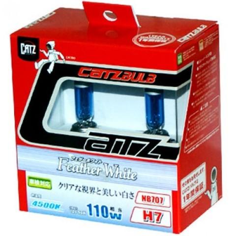 Газонаполненные лампы CATZ H7 NB707 (4500К)
