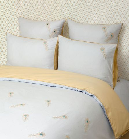 Постельное белье 2 спальное евро Luxberry Павлин
