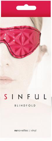 БДСМ маска на глаза Sinful - Blindfold