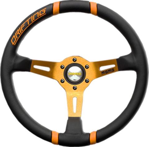 Руль MOMO Drifting Nero (диаметр 350 мм.)