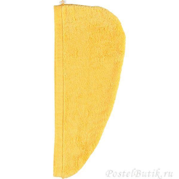 Полотенце для волос 70x70 Cawo Turban 7073 Hairtowel желтое