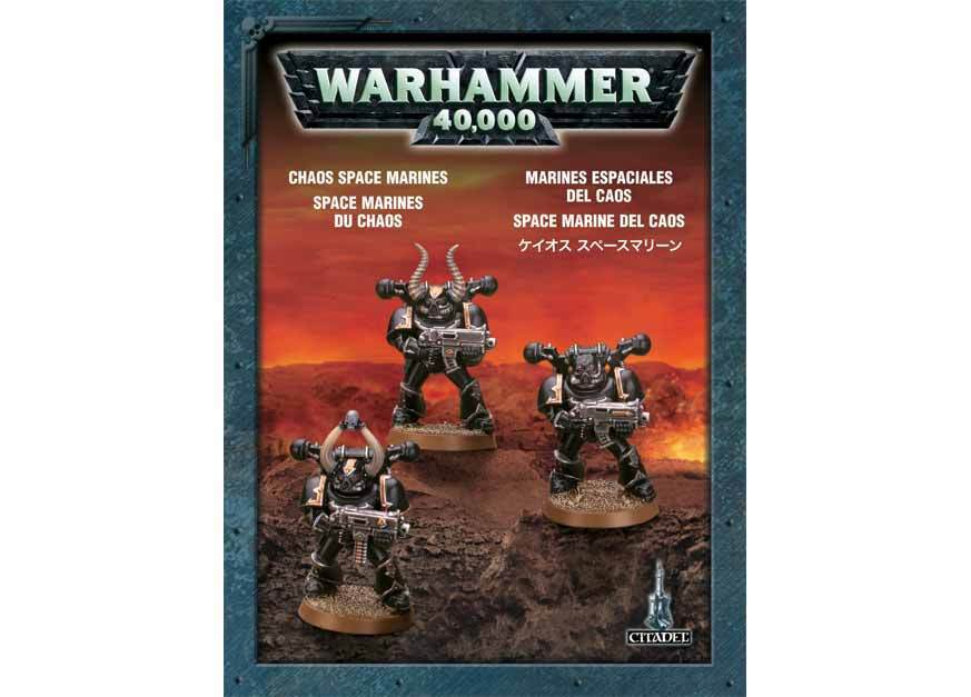 Chaos Space Marines. Коробка