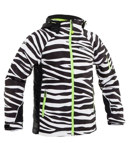 Горнолыжная Куртка 8848 Altitude ROSALEE подростковая ZEBRA BLACK