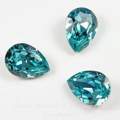 4320 Ювелирные стразы Сваровски Капля Light Turquoise (18х13 мм)