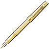 Купить Перьевая ручка Parker Premier DeLuxe F562, цвет: Chiselling GT, перо: F, перо: золото 18К,  S0887930 по доступной цене