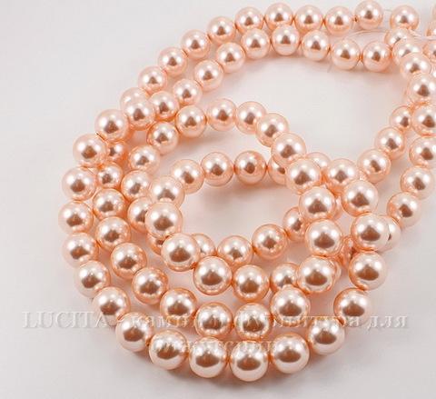 5810 Хрустальный жемчуг Сваровски Crystal Rose Peach круглый 6 мм, 5 штук ()