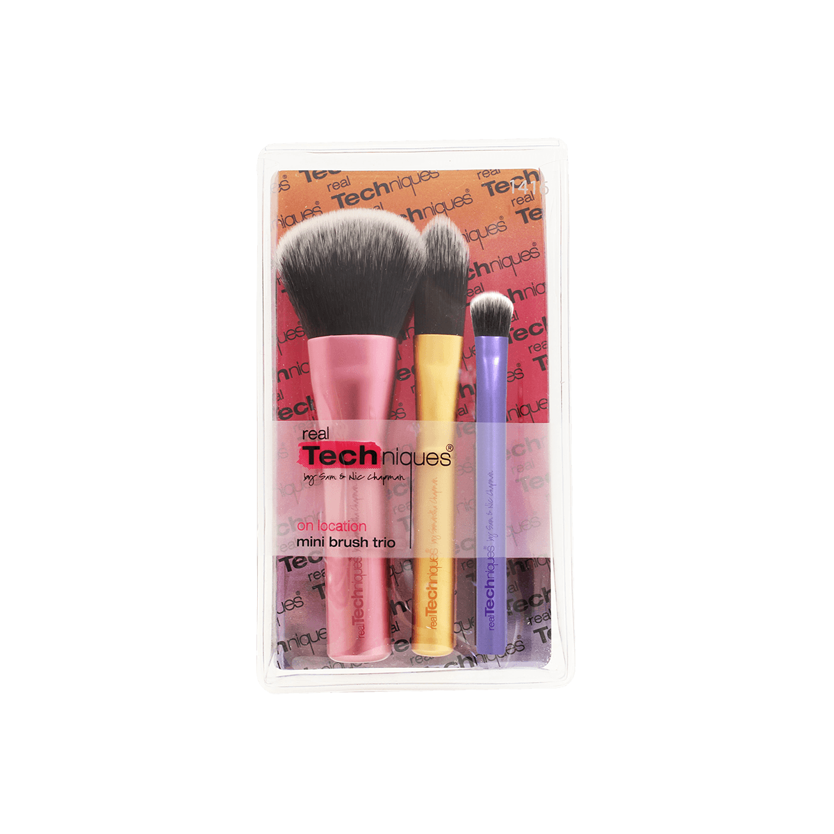 Набор мини-кистей mini brush trio