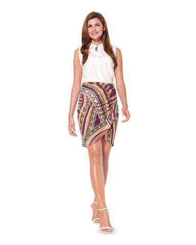 Выкройка Burda (Бурда) 6973 — Платье, Юбка с драпировкой