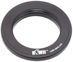 Переходное кольцо Kiwifotos LMA-M42 4/3 для M42