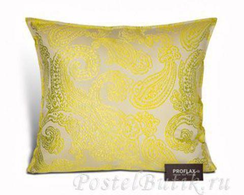 Элитная подушка декоративная Rondo limone от Proflax