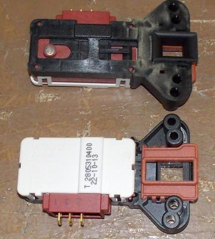Устройство блокировки люка (УБЛ) для стиральной машины Beko (Беко) - 2805310100, 2805310400