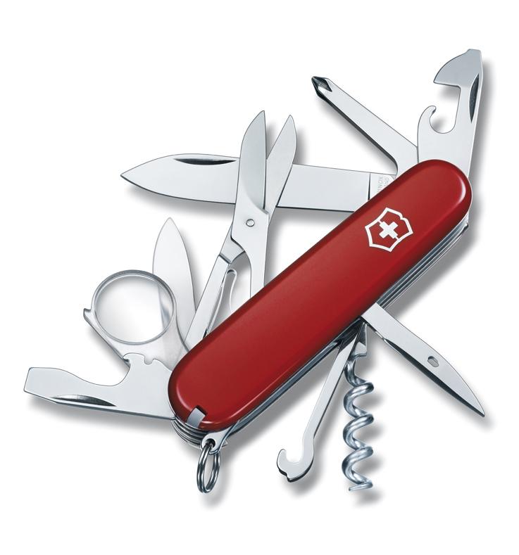 Нож Victorinox Explorer, 91 мм, 16 функций, красный
