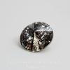 1122 Rivoli Ювелирные стразы Сваровски Crystal Black Patina (12 мм)