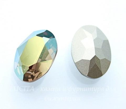 4120 Ювелирные стразы Сваровски Crystal Iridescent Green (18х13 мм)