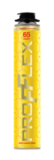 Пена монтажная профессиональная PROFFLEX PRO YELLOW 65 LITE 850мл (12шт/кор)