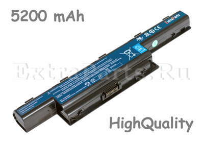 Аккумулятор ACER TravelMate 5740 (5200mAh) HQ