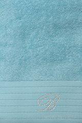 Набор полотенец 2 шт Blumarine Crociera бирюзовый