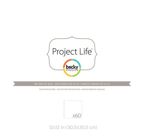 Фотофайлы Project Life для страничек 30х30- штучно