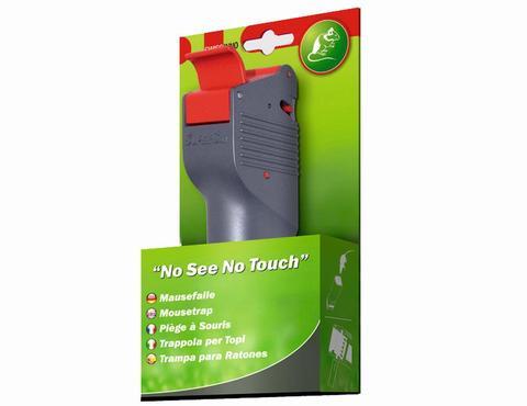 Мышеловка SuperCat «Не вижу, не трогаю», в комплекте с натуральной приманкой (Swissinno)