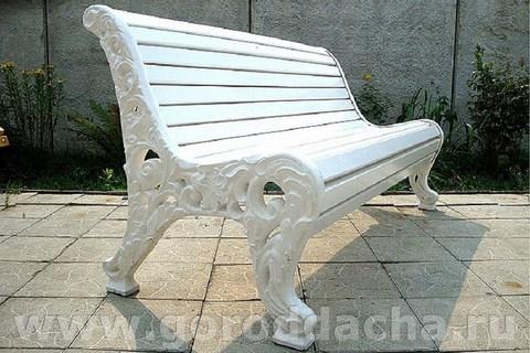 Скамейка чугунная литая «Новая»