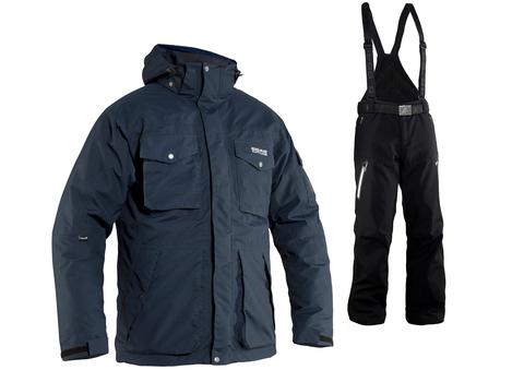 Зимний костюм 8848 Altitude парка Bruson/Kers мужской Marine/Black