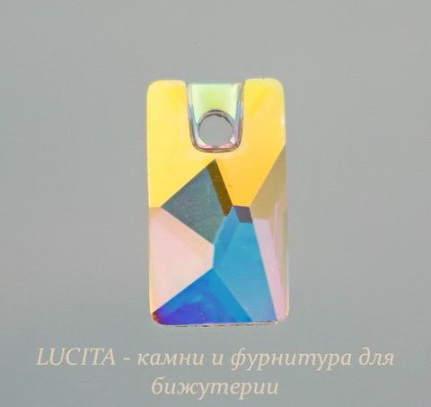 3500 Подвеска Сваровски Lochrose Crystal AB (12,5х7 мм)