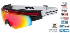 Лыжные Очки goggle линия Shima black/red