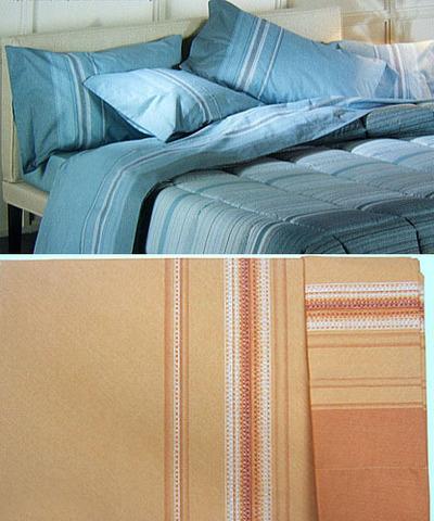 Элитное постельное белье 1.5-спальное бязь Nordica оранжевое от Caleffi