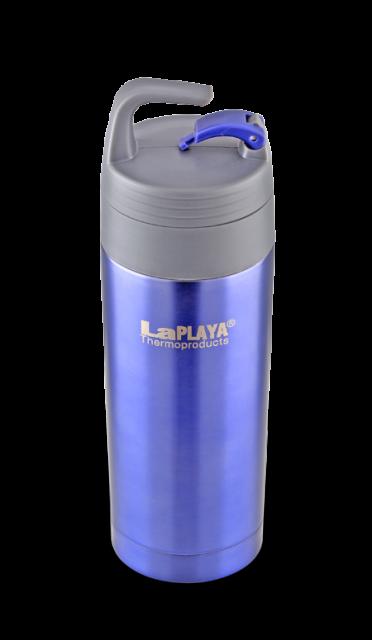 Термокружка La Playa Carabiner (0.35 литра) фиолетовая