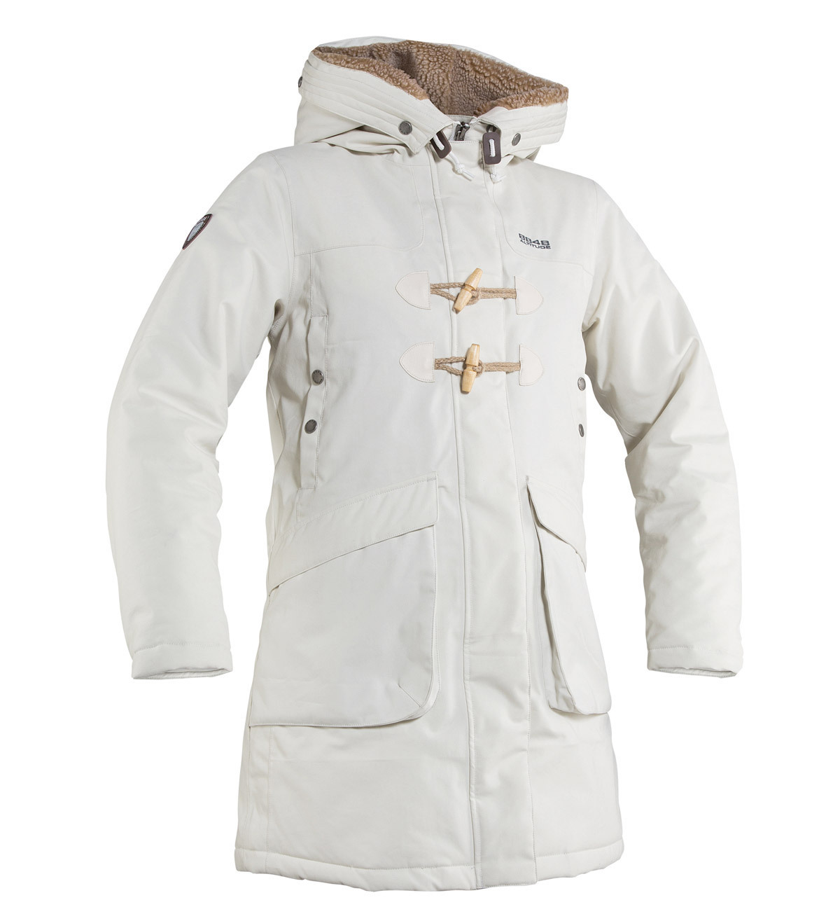 Куртка-парка 8848 Altitude Pasha белая