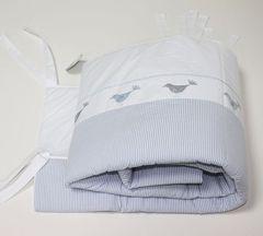 Бампер для детской кроватки 195х45 Bovi Птички