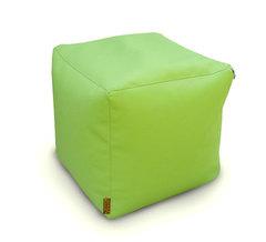 Пуфик куб Зеленый