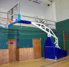 Стойка баскетбольная профессиональная мобильная складная вынос 3,25м. «ATLET 325»